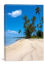 Cook islands, New Zealand,, Canvas Print