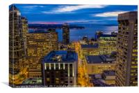 Seattle, Washington skyline , Canvas Print