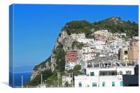 Capri island, Italy, Canvas Print