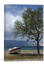 Greece, Evia Island , Canvas Print