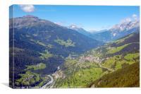 Austria, Tyrol, Kaunertal valley, , Canvas Print