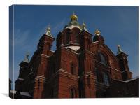 Uspenski Orthodox Church - Helsinki, Canvas Print