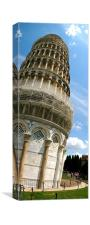 LEANING TOWER, Canvas Print