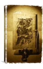 Bubishi, Canvas Print