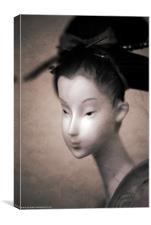 Geisha Girl, Canvas Print