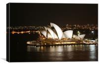 Sydney Sky, Canvas Print