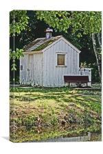 The Barn, Canvas Print