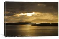 Sunset on Skye, Canvas Print