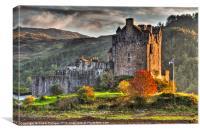 Castle Eilean Donan, Canvas Print