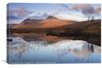 Rannoch Moor at sunrise, Canvas Print