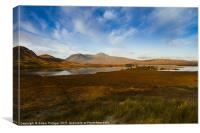 Lochan Nah Achlaise and Black Mount, Canvas Print