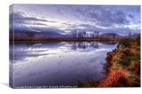 Rannoch Moor, Glencoe, Scotland, Canvas Print