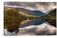Loch Dùghaill, Scotland, UK, Canvas Print