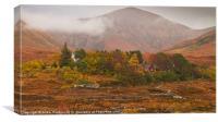 Autumn colors at Sligachan, Scotland, Canvas Print