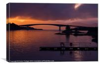 Skye Bridge, Kyle of Lochalsh, Canvas Print