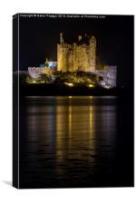 Castle Eilean Donan, Scotland, Canvas Print