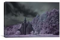 St Palladius Church, Glen of Drumtochty, Canvas Print