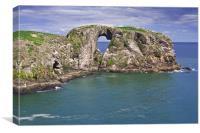 Longhaven Cliffs, Canvas Print
