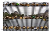 Padlocks on the Seine