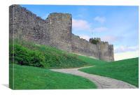 Conwy Castle, Wales, Canvas Print