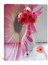 NA floral abstract, Canvas Print