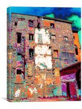 urban abstract, Canvas Print