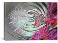 pink petal, Canvas Print