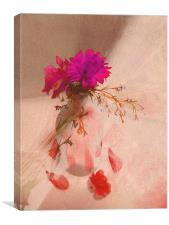floral still life, Canvas Print