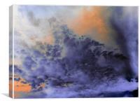Fight Of Light, Canvas Print