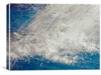 Water Curtain, Canvas Print