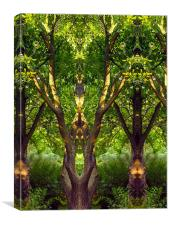 Jungle, Canvas Print