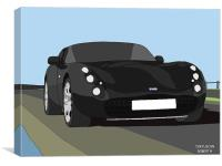 TVR Tuscan, Canvas Print