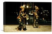 Balinese Dancers, Canvas Print