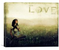 dream of love, Canvas Print