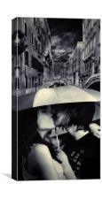 the kiss, Canvas Print