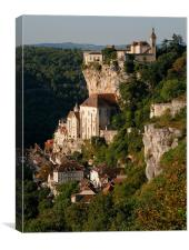 Rocamadour France, Canvas Print
