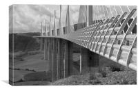 Millau Bridge, Canvas Print