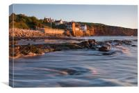 Sunrise at Robin Hoods Bay, Canvas Print