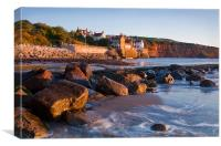 Robin Hoods Bay at Sunrise, Canvas Print