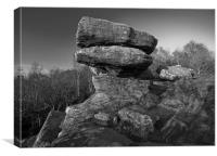 Brimham Rocks, Canvas Print
