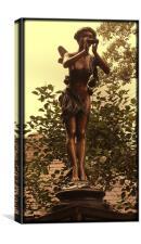 Piper fairy, Canvas Print