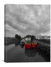 Sequana | Beverley Canal, Canvas Print