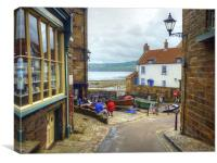 Robin Hood''s Bay, Canvas Print