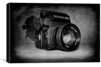 Vintage Camera, Canvas Print