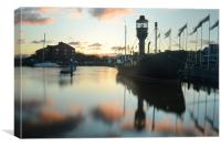 Hull Marina at Sunset