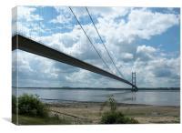 Humber Bridge, Hull, UK, Canvas Print