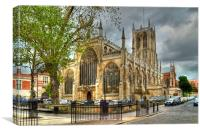 Holy Trinity Church Hull, Canvas Print