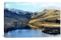 Haweswater in Winter, Canvas Print