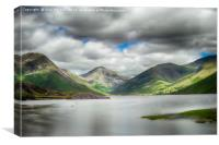 Wast Water, Laqke District, Canvas Print