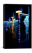 play-light, Canvas Print